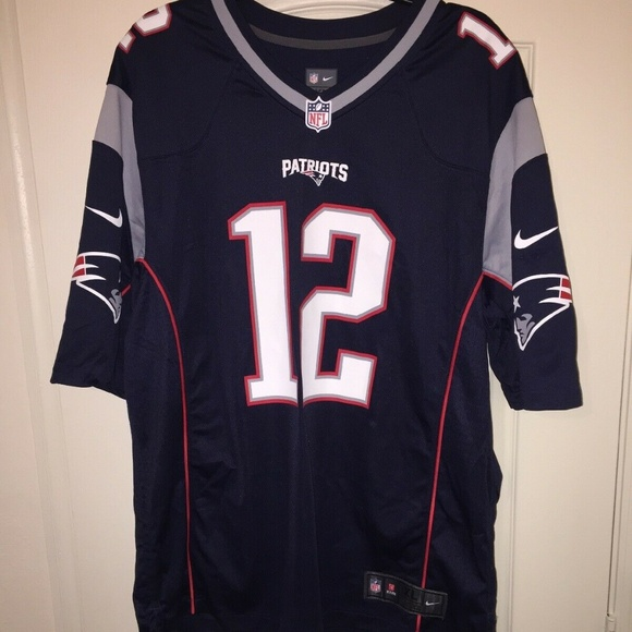the latest 66b59 ec416 Tom Brady Patriots Jersey Nike NFL
